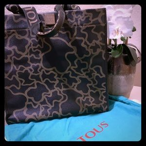 Authentic Large TOUS Kaos Tote Bag